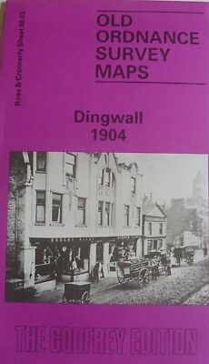 Old Ordnance Survey Maps Dingwall Scotland 1904 Sheet 88.03 Brand New