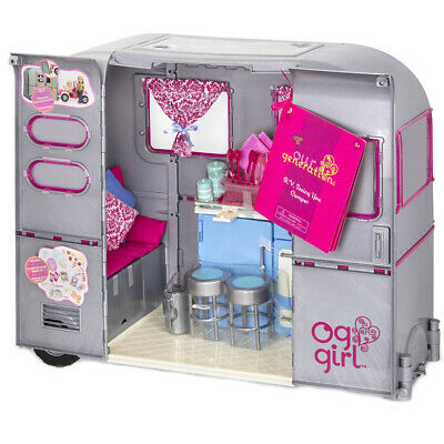 Our Generation R.V Seeing You Camper Doll Playset NEW