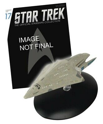 Star Trek Starships Figurine Collection Magazin + Modell 17: USS Dauntless