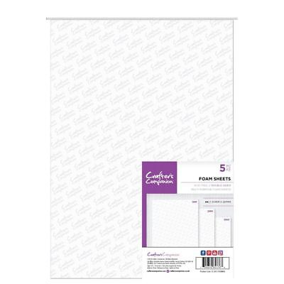 Crafter's Companion - 1 Pack Of Double Sided Foam Sheets - A4 Size (5PC)