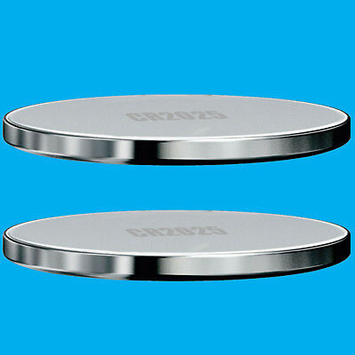 2x CR2025 3V Lithium Button Cell Battery Watch Replacement