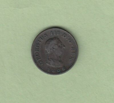 1806 Great Britain One Farthing Coin - VF