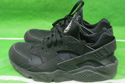 best service 7bf88 11cd8 Nike Air Huarache Run Triple Black 318429-003 -Size 8.5