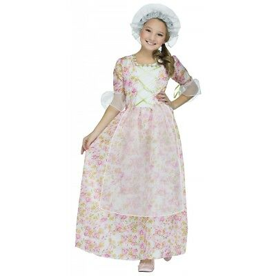 Colonial Girl Costume Kids Betsy Ross Martha Washington Molly Pitcher