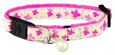 Trixie Glow In The Dark Kitten Plush Cat Collar, Single Unit (Assorted)