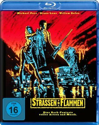 Streets of Fire (1984) IMPORT Blu-Ray BRAND NEW (German Package - English Audio)
