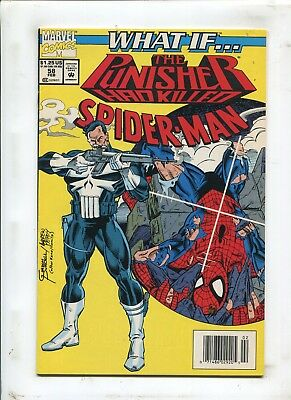 What If? #58 - The Punisher Had Killed Spider-Man! - (9.2) 1994