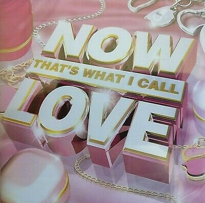 2CD NEW - NOW THAT'S WHAT I CALL LOVE - Pop Music 2x CD Album - Perry McFly Gaga
