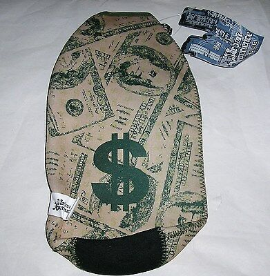 C21  ONE GREEN 100 DOLLAR BILL $ 40 OUNCE BEER bottle KOOZIE COOLERS