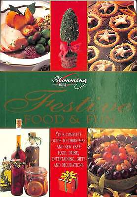 Festive Food & Fun, Slimming World Ltd, Good Condition Book, ISBN