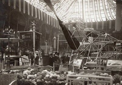 Paris Airshow Grand Palais Astra Display Aviation Old Photo 1911