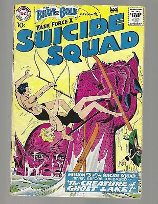 Brave And The Bold #27 Suicide Squad