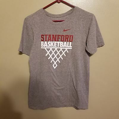 4a66f2d2485 Stanford Cardinal Basketball Nike Athletic Cut Shirt Size Small Adult