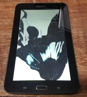 CRACKED BROKEN AS IS PARTS Samsung Galaxy Tab 3 Lite 7