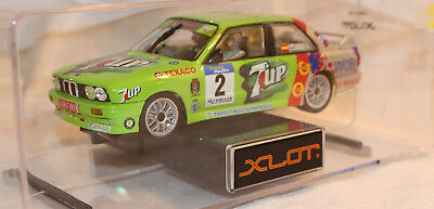 Ninco Xlot 1:28 Slotcar - 60008 - BMW M 3 E30 Ponce 7up - Neu in OVP
