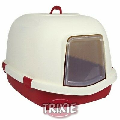 Trixie Primo Cat Litter Tray With Hood/Flap/Handle, X-Large, 71 X 56 X 47 Cm,