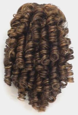 "11"" Medium Spiral Curls Curly Hair Ponytail Hairpiece Drawstring Shirley Temple"