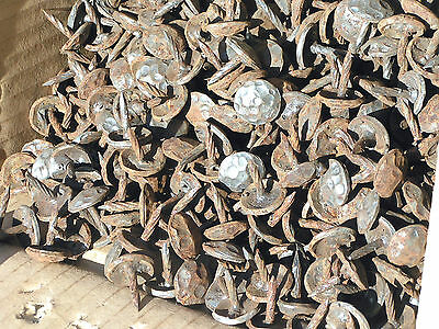 100 Hammered Clavos decorative Nails for doors, furniture, crafts 5/8 inch