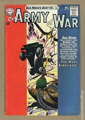 Our Army at War #137 1963 VG- 3.5