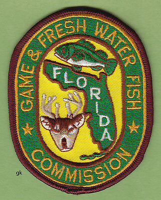 Florida Game And Fresh Water Fish Commission Shoulder Patch