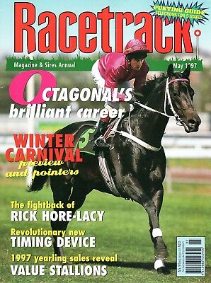 1997 May Racetrack Magazine Octagonal Special Feature