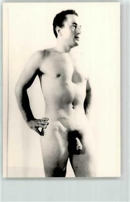 52750463 - Gay Interest Photo Nude Guy Posing 9x13cm Pin Up