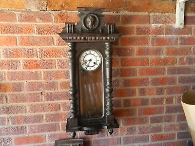 3 Vienna Wall Clocks And Parts Ideal For Restoration
