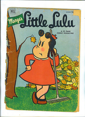 Marges Marge's Little LULU October 1952 Issue 52 Dell Comic Book