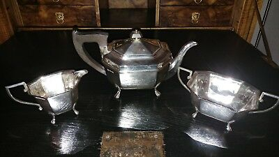 Sterling Silber 925 Teeservice England