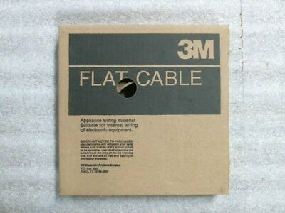 3M 3365/10 80-6100-5999-2 Appliance Flat Ribbon Cable 90ft Partial Roll