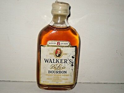 miniature mignon whisky WALKER'S  aged 8 years