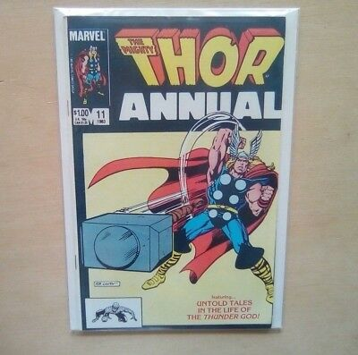 THOR ANNUAL #11 1st APP EITRI -  DWARF KING FROM AVENGERS INFINITY WAR 1st PRINT