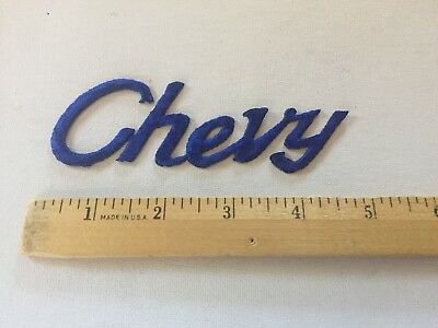 Vintage Rare Chevy Blazer Patch Awesome Chevrolet Patch Embroidered