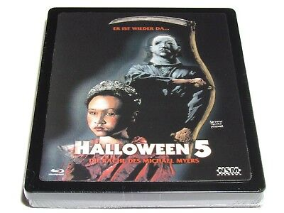 Halloween 5 Blu Ray.Halloween 5 Blu Ray Metalpak Steelbook Lenticular Limited Edition Dented Read