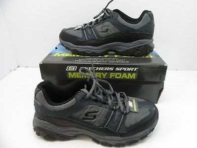 8ca41bf5c9c5e MEN'S SKECHERS AFTERBURN M.Fit Strike Off Sneakers Navy / Gray Size 9.5 M