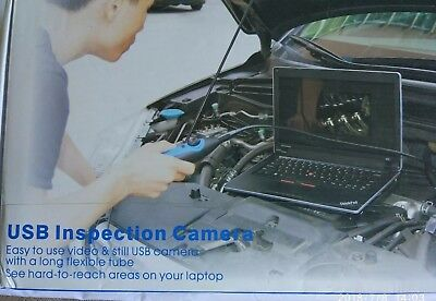 Endoscope snake inspection usb camera