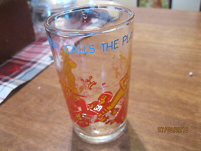 1973 archie comics [ sabrina calls the play ] jelly glass