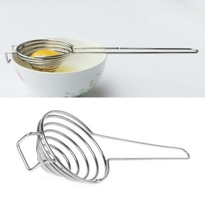 Stainless Steel Egg White Yolk Filter Separator Divider Kitchen Cooking Tool