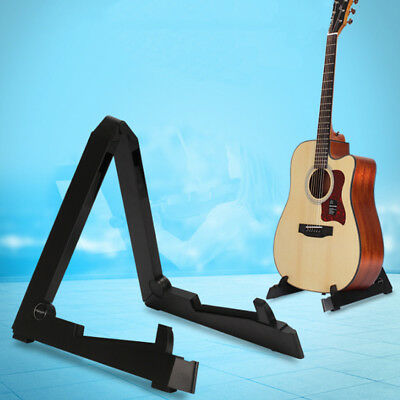 Portable Folding Guitar Stand Electric Acoustic Bass Guitar Stand Bracket Home