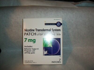 Habitrol® Nicotine Transdermal System Patch 7MG Step 3 7 Patches Each  (Sealed)
