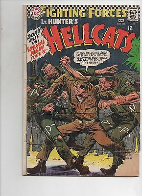 DC Comics    Our Fighting Forces #106   Good Reader Copy  Lt Hunter's Hellcats