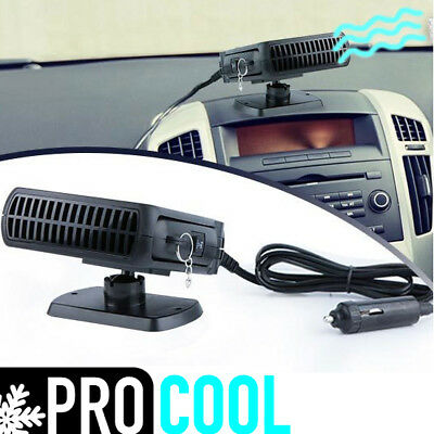 12v 150w Car Cooler Air Conditioning Fan Cigarette Lighter Powered Cooling Cool