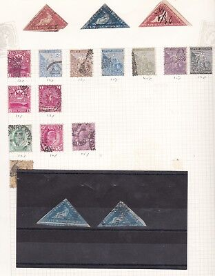 South Africa Cape Of Good Hope Used Collection 66 Stamps
