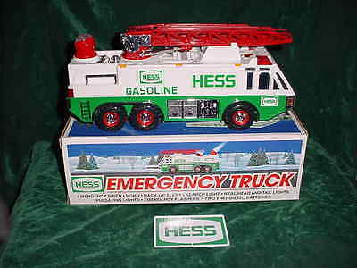 Great Holiday  Gift 1996 Hess Toy Emergency Truck Truck Toys Truck Mint In Box