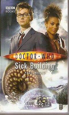 + DOCTOR WHO Paperback Sick  Building (David Tennant as Doctor) engl.