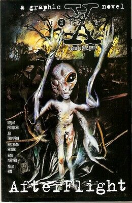 X-Files Akte X Comic USA Graphic Novel Afterflight