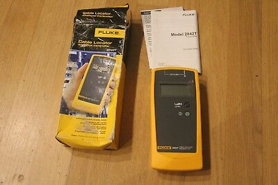 Fluke 2042T Cable Locator Transmitter unit in original box