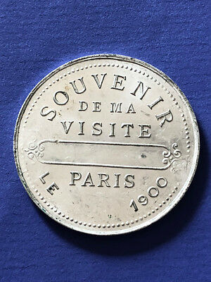 1900 Paris ALU Medaille 38 mm Exposition exhibition Expo  medal worlds fair