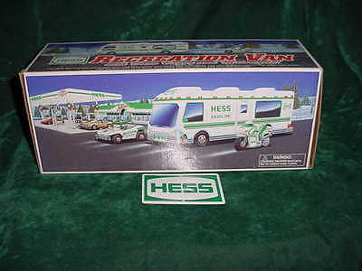 Christmas 1998 Hess Toy Camper Van W/ Dune Buggy And Motorcycle  Toys Trucks