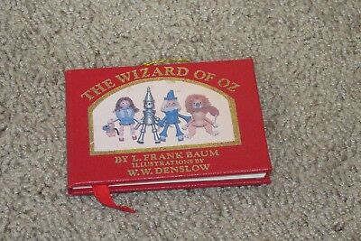 Kurt Adler Ornament Book, Mint,47 pages Small Wizard of Oz